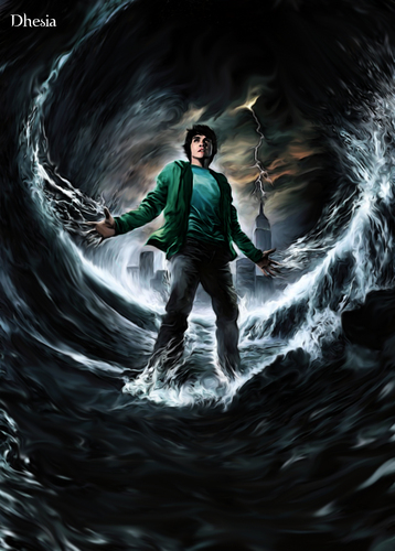 Percy Jackson digital paint - percy-jackson-and-the-olympians-books Photo