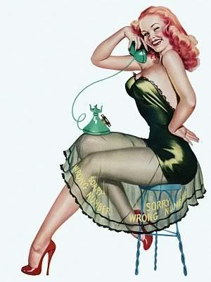Wanita Pin Up
