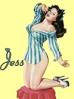 Pin Up Girls wallpaper entitled Jess