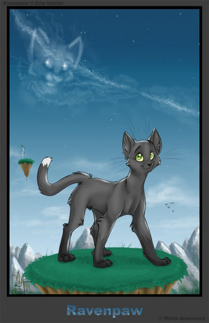 Ravenpaw's dream - warrior-cats-of-the-clans Photo
