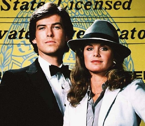 Remington Steele پیپر وال titled Remington&Laura