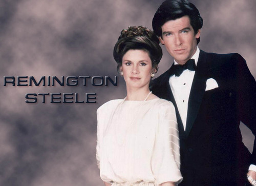 Remington Steele fond d'écran entitled Remington&Laura