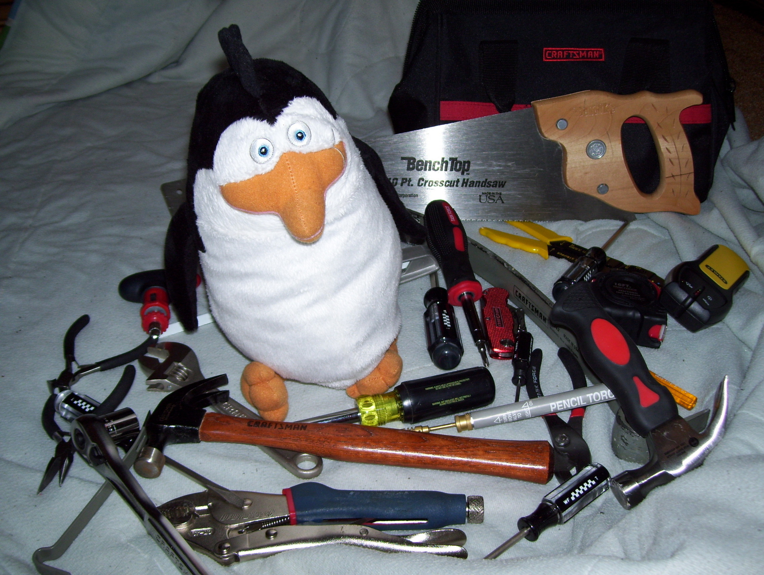 Rico and His Tools