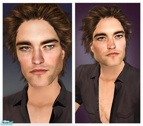 Robert Pattinson As A Sim Character