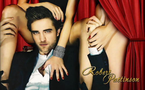 "Robert Pattinson ""Details"" 壁紙"