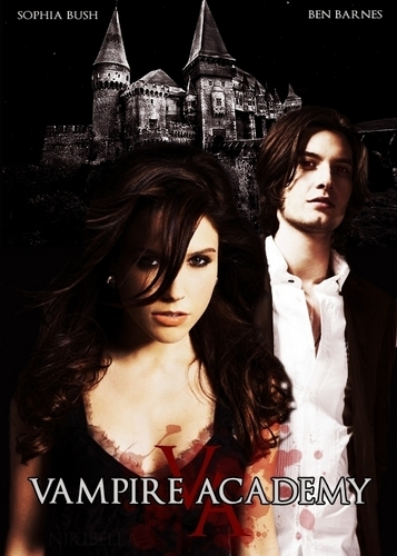 Rose and Dimitri (Sophia بش and Ben Barnes) Vampire Academy سے طرف کی Richelle Mead