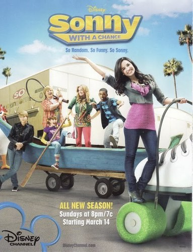 Sonny With A Chance پیپر وال entitled SWAC season 2 Poster HQ