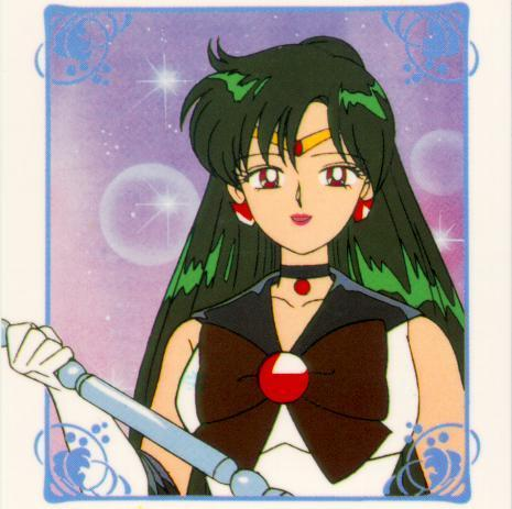 Sailor Pluto with her staff