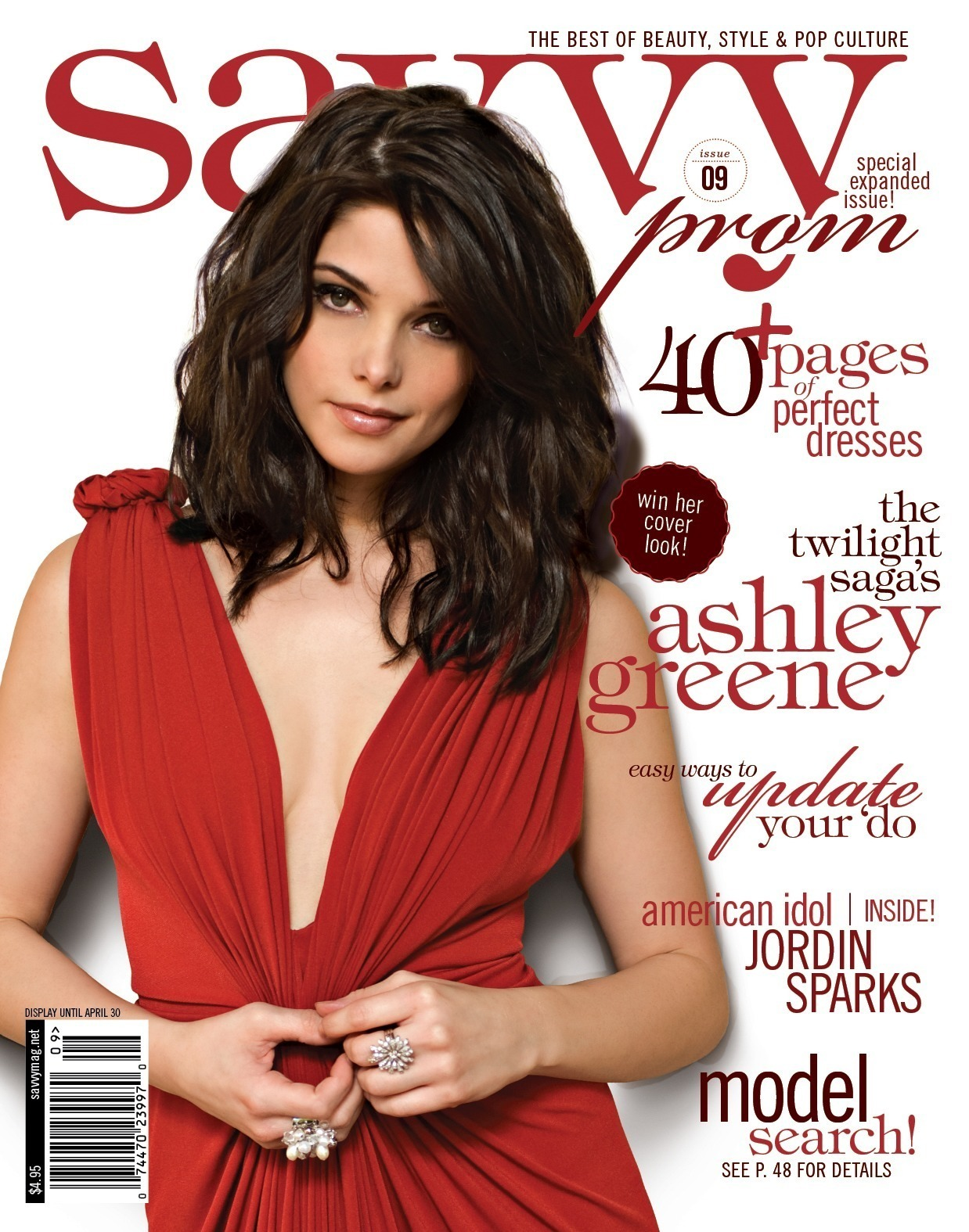 Scans of Ashley in Savvy Magazine - ashley-greene photo