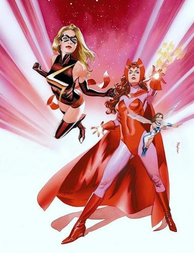 Scarlet Witch & Ms. Marvel