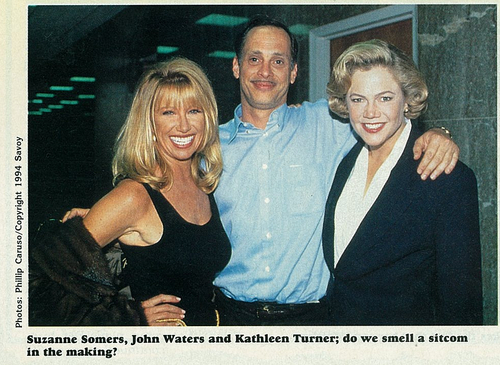 Serial Mom:  Suzanne Sommers, John Waters & Kathleen Turner - dreamlanders Photo