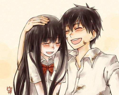 Shouta and Sawako