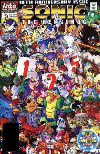 Sonic Comic 125