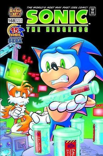 Sonic Comic 168