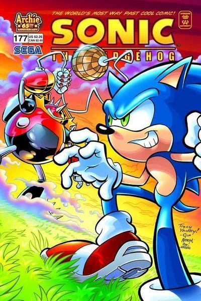 Sonic Comic 177
