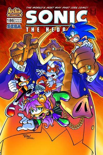 Sonic Comic 186