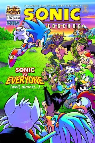 Sonic Comic 187