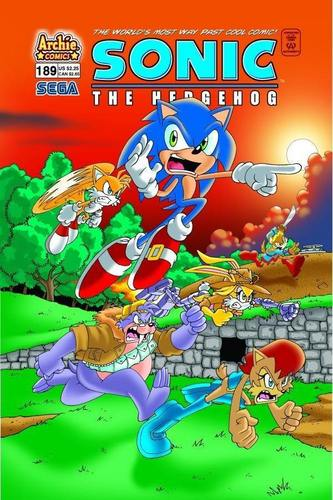 Sonic Comic 189