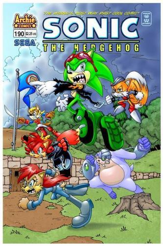 Sonic Comic 190