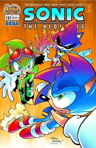 Sonic Comic 191