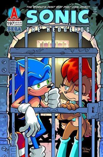 Sonic Comic 197