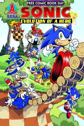 Sonic Free Comic