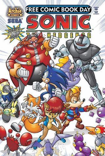 Sonic Free Comicbook