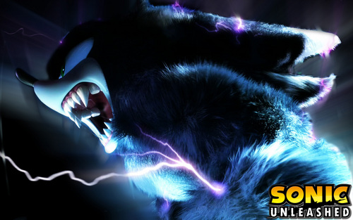 Sonic the Hedgehog wallpaper titled Sonic Unleashed