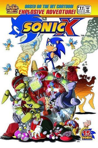 Sonic X Comic 11