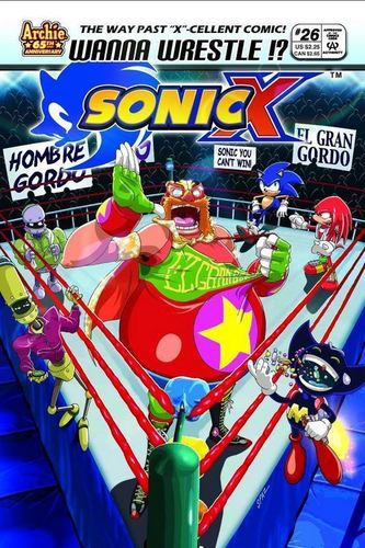 Sonic X Comic 26