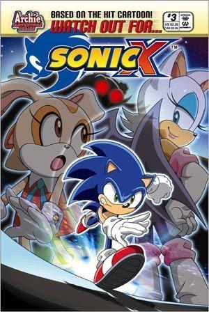 Sonic X Comic 3