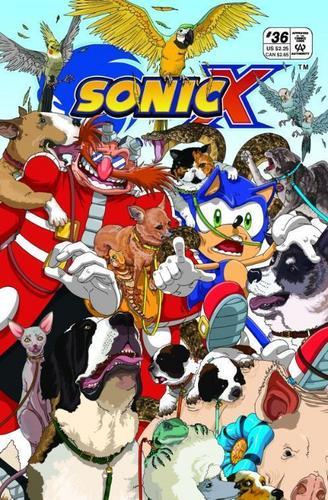 Sonic X Comic 36