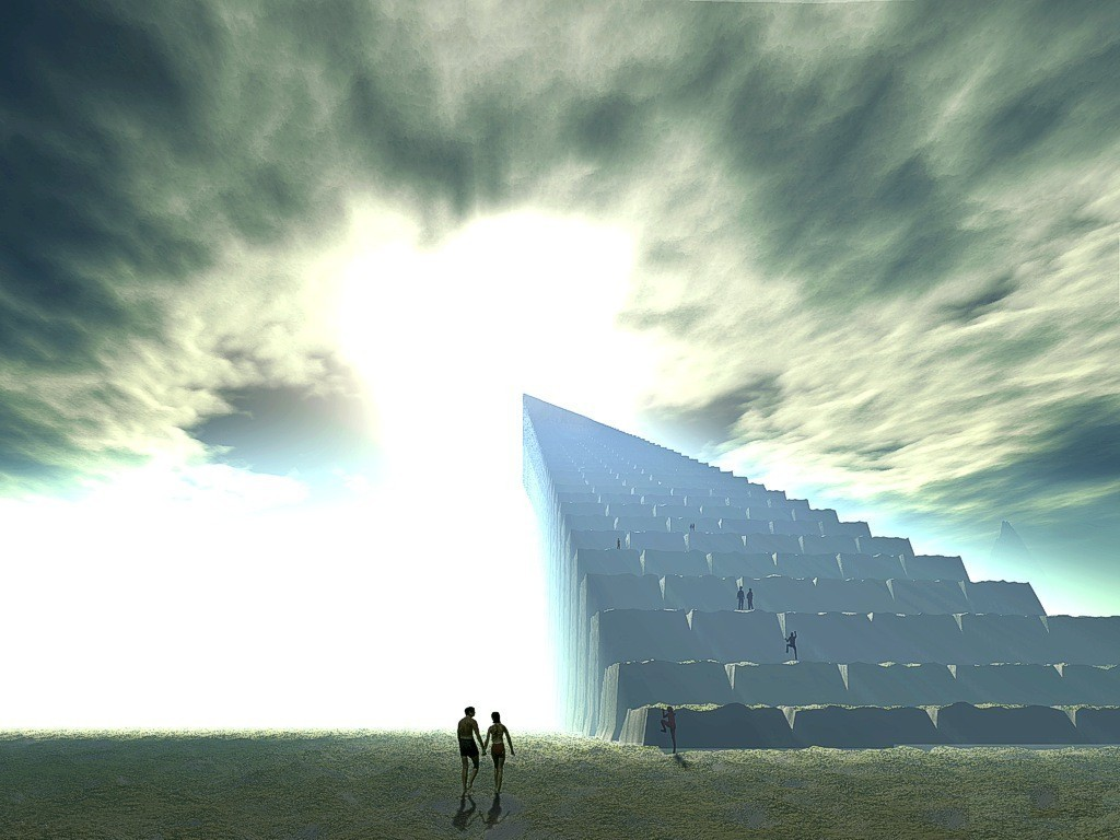 Stairway To Heaven - God-The creator Wallpaper (10347408 ...