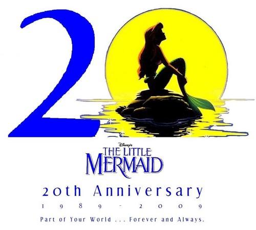 La Sirenetta wallpaper entitled The Little Mermaid 20th Anniversary