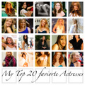 Top 20 actresses