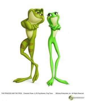 Two Frogs - The Princess and the Frog Fan Art (10317438) - Fanpop