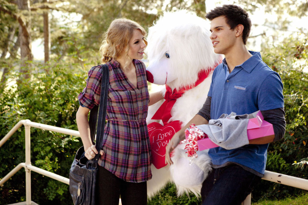 Valentines day movie with taylor swift