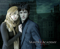 Vasilisa Dragomir and Christian Ozera Vampire Academy سے طرف کی Richelle Mead