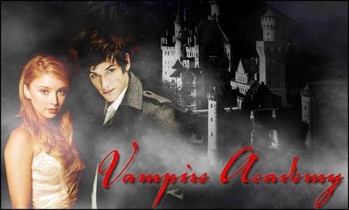 Vasilisa Dragomir and Christian Ozera Vampire Academy by Richelle Mead
