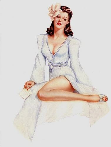 Vintage Pin Up Girl - pin-up-girls Fan Art