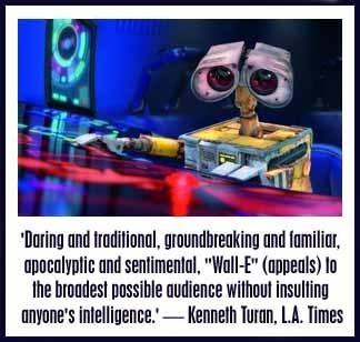 WALL-E Movie Review