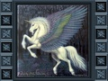 Winged Beauty - unicorns wallpaper