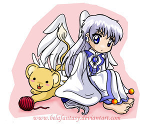 Yue wallpaper called Yue and Kero
