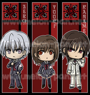 Zero,Yuki, & Kaname