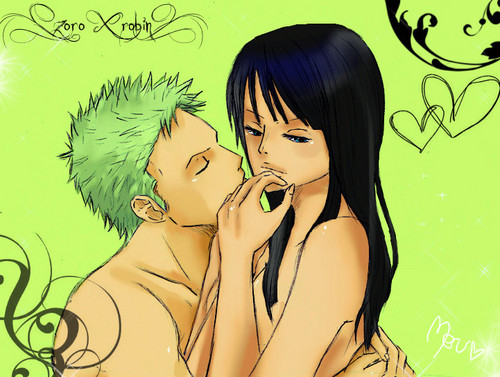 Zoro & Robin wallpaper titled Zoro Robin