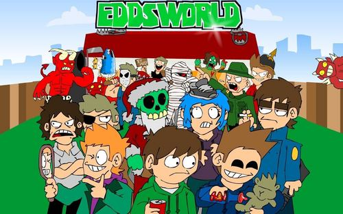 Eddsworld hình nền entitled almost every character