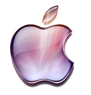 manzana, apple logo