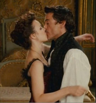 Sherlock Holmes and Irene Adler 바탕화면 entitled bye bye!