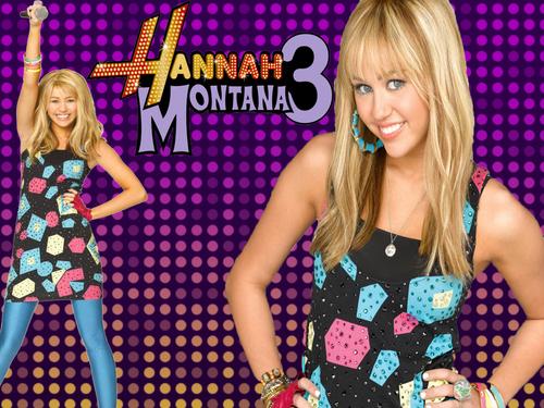 Hannah Montana fond d'écran titled fake v/s real hannah pics
