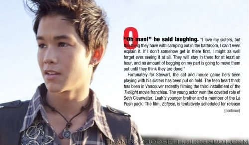 Boo Boo Stewart wallpaper titled hottie